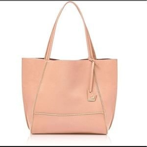 NWT Botkier Soho Tote in Blush/Gold